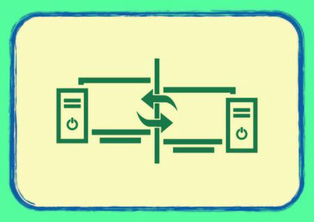 Computer, laptop icon Illustration