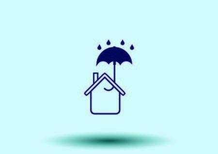 house icon, vector illustration. Illustration