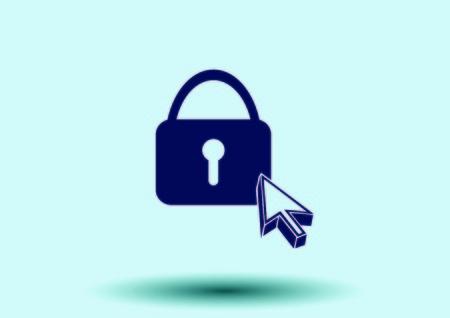 Schloss, Sicherheit, Sicherheitssymbol Illustration