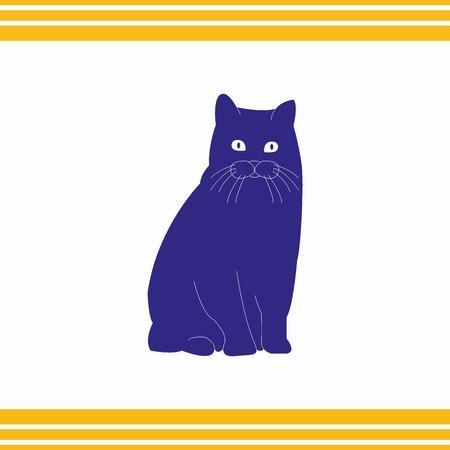 icon: Cat icon Illustration