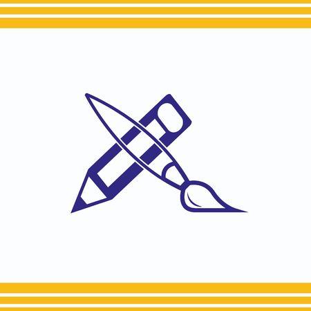 icon: brush icon