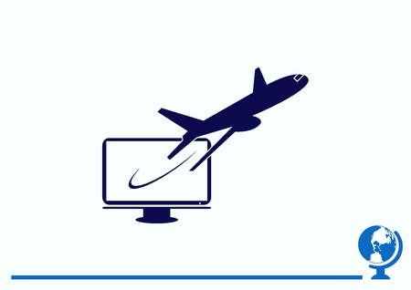 icon: Aircraft icon Illustration