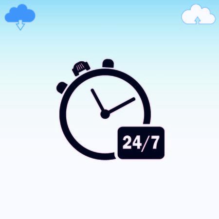 Watch stopwatch icon