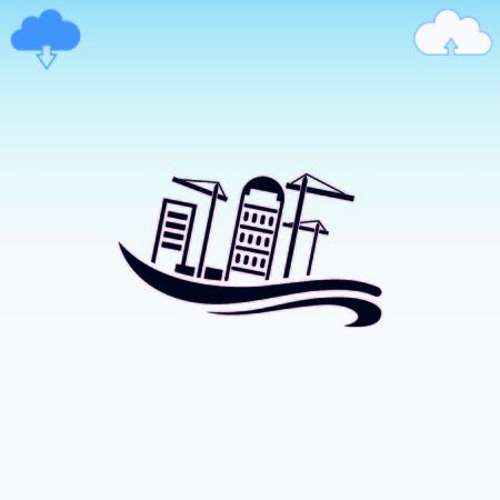 disaster: Flood, Typhoon icon. Disaster.