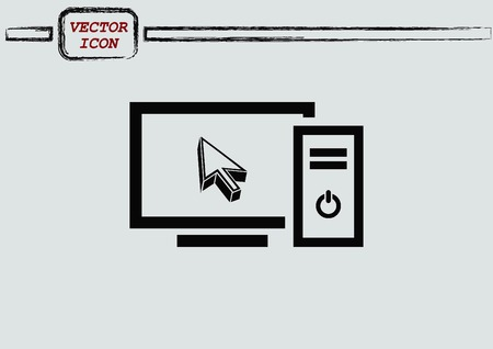 computer: computer icon