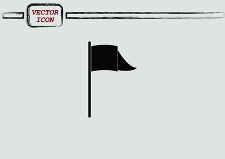 icon: Flag icon Illustration