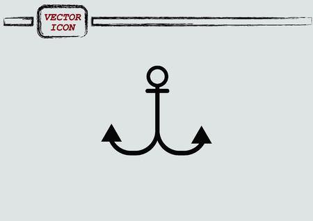 icon: Anchor icon Illustration