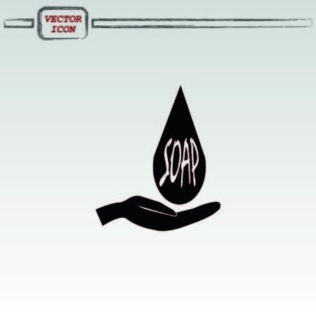 soap icon Illustration