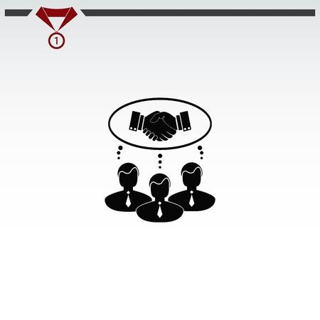 Agreement icon Illustration