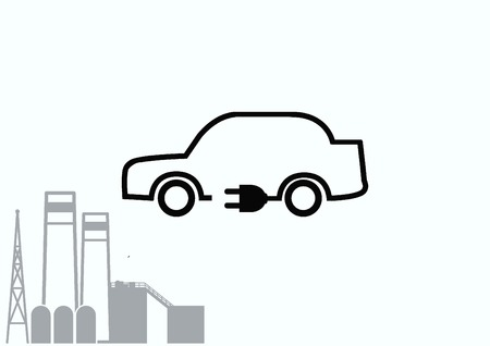 refueling: refueling electric car charging battery hybrids icon