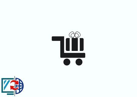 icon: Present icon. Illustration