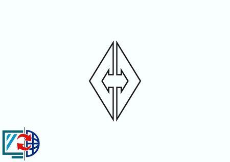 Arrow indicates the direction icon