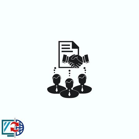 icon: Agreement icon Illustration