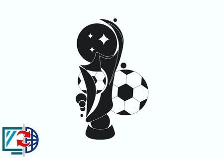 Soccer Cup, awarded the best team in football. Иллюстрация