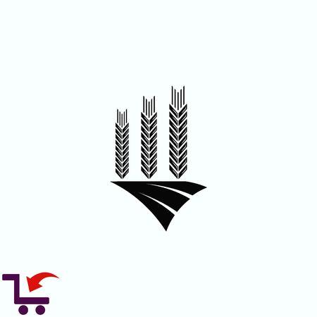rye: Wheat  icon Illustration