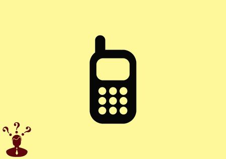 phone icon: Phone talk icon