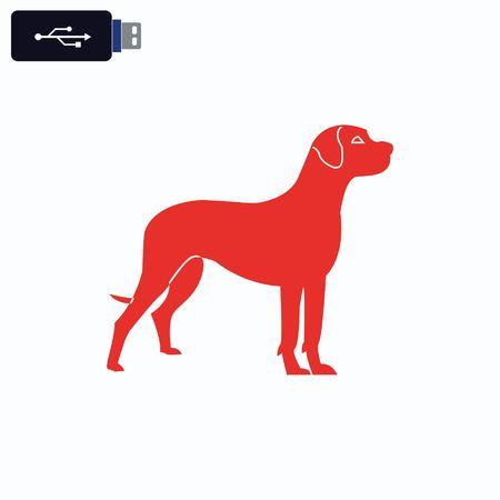 labrador: Dog icon