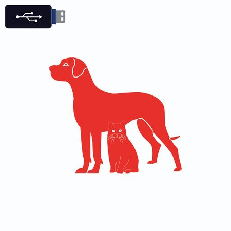 licking: Dog icon