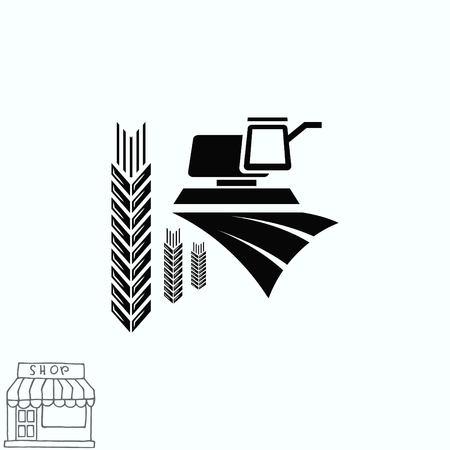 Wheat icon Ilustracje wektorowe