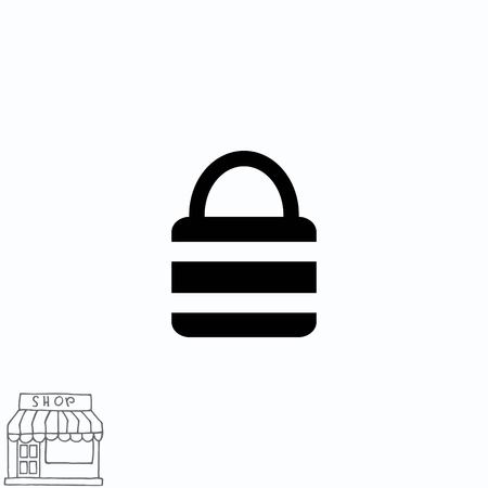 Lock, safety, security icon Stock Vector - 77791453
