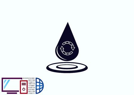 물방울 아이콘