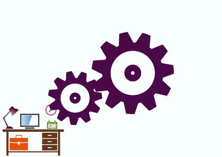 spare parts icon Illustration