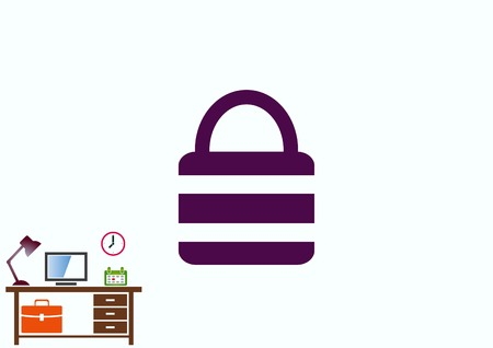 Lock, safety, security icon Stock Vector - 78357236