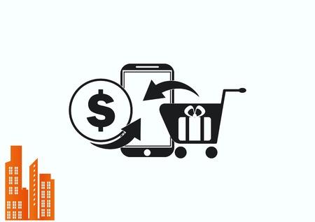 On line sale icon