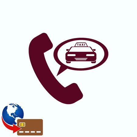 silver: Taxi icon