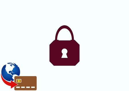 Lock, safety, security icon Stock Vector - 78953232