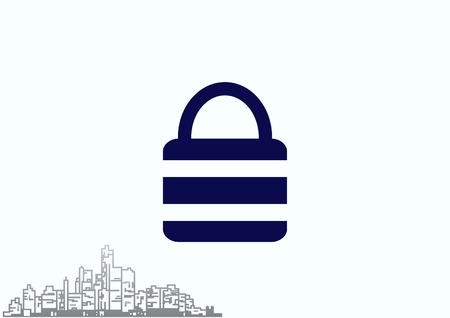 Lock, safety, security icon Stock Vector - 79820332