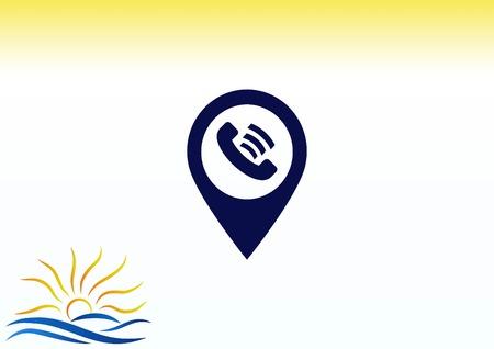 Ringer icon illustration. Illustration