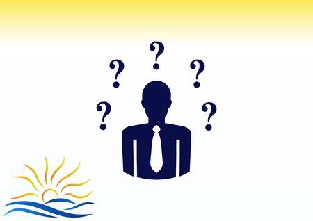 pictograph: Faq icon, question icon. vector illustration.