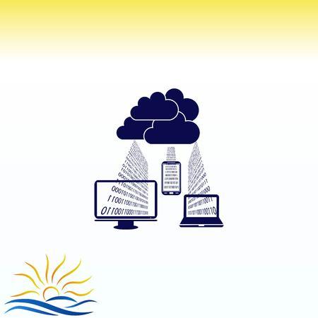 Thermometer icon Illusztráció