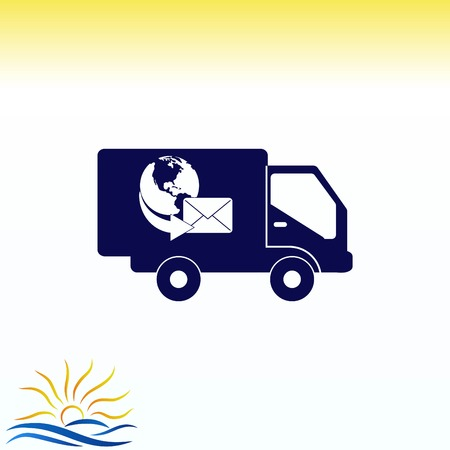 quality guarantee: Auto icon Illustration