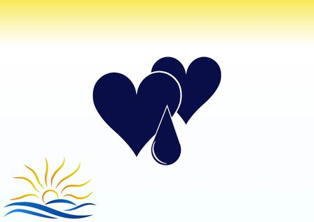 electrocardiograma: corazón humano, Cardiología reanimación icono