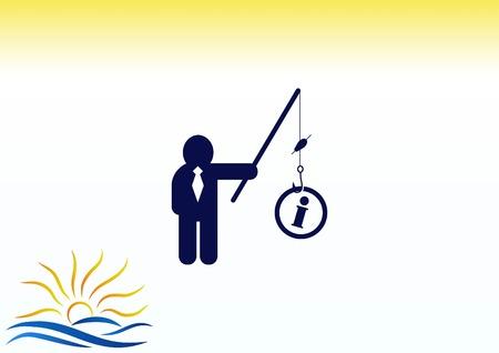 Bedrijfsstrategie pictogram, business concept pictogram, vector illustratie.