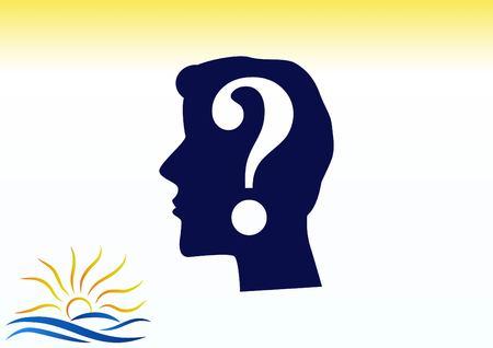 solve: faq icon, question icon. Illustration