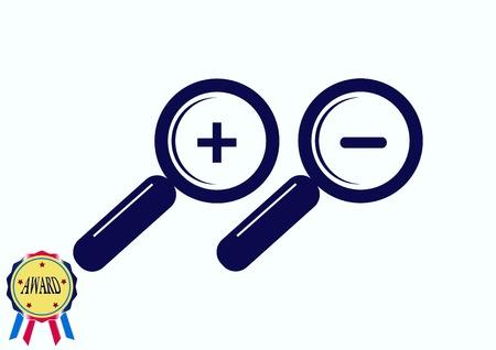 arte optico: Search icon