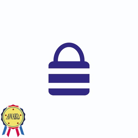 Lock, safety, security icon Stock Vector - 81084236