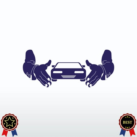 Car icon vector illustration.