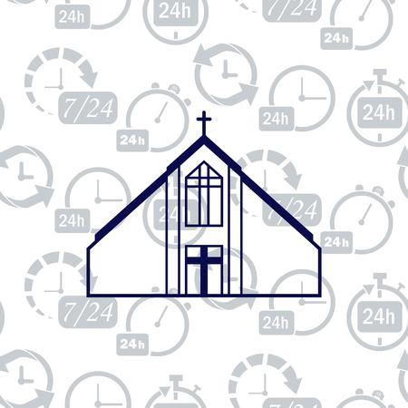 hasidism: Christian church, house of prayer, Baptist icon