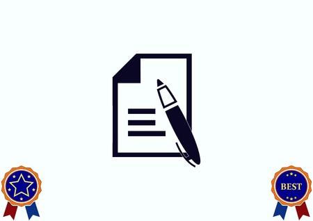 document recevoir l & # 39 ; icône