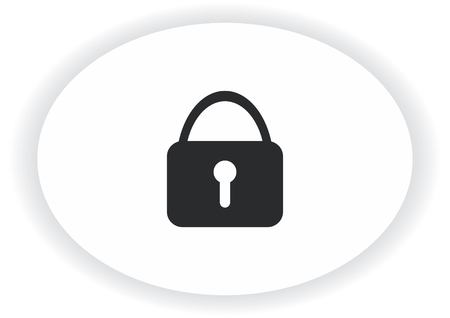 Lock, safety, security icon Stock Vector - 89714655