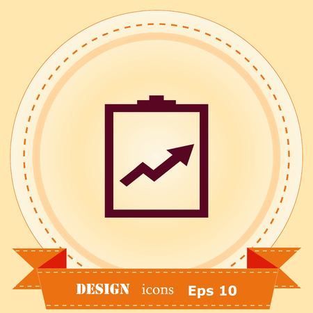 Diagram icon. 일러스트