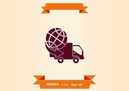 Auto icon design illustration
