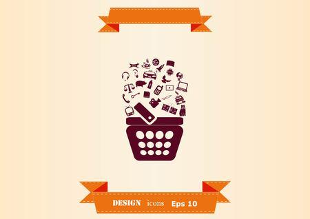Internet banking icon. Ilustração