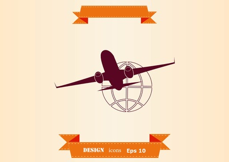 Aircraft icon 일러스트