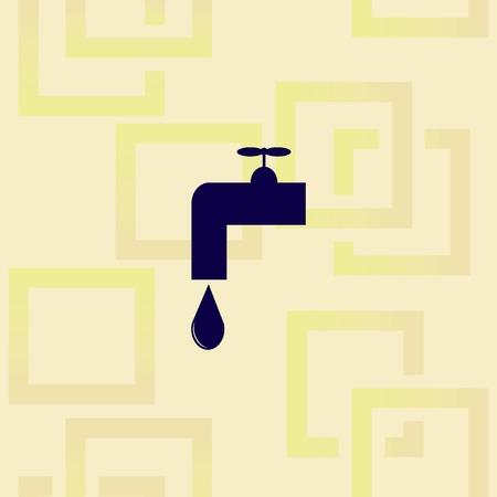 Droplet icon design