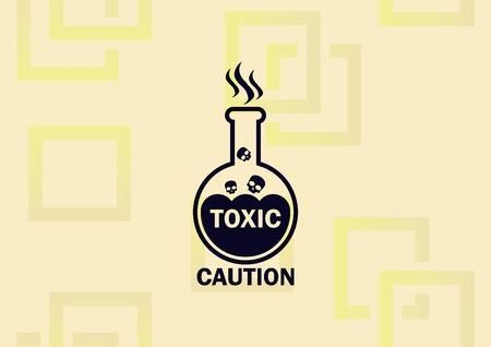 Laboratory equipment, chemistry, science icon vector illustration.